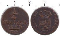 Каталог монет - монета  Гессен-Кассель 1/4 крейцера