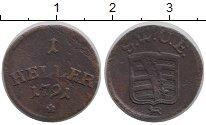 Каталог монет - монета  Саксен-Веймар-Эйзенах 1 геллер