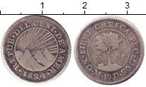 Каталог монет - монета  Центральная Америка 1/2 реала