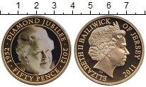 Каталог монет - монета  Остров Джерси 50 пенсов