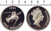 Каталог монет - монета  Бермудские острова 2 доллара