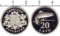 Каталог монет - монета  Латвия 20 лат