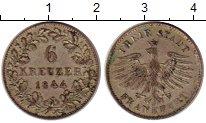 Каталог монет - монета  Франкфурт 6 крейцеров