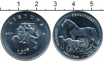 Каталог монет - монета  Литва 1 1/2 евро
