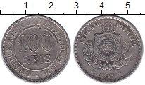 Каталог монет - монета  Бразилия 100 рейс