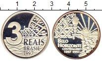 Каталог монет - монета  Бразилия 3 рейса