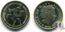 Каталог монет - монета  Остров Мэн 1 фунт