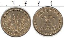 Каталог монет - монета  Французская Западная Африка 10 франков
