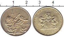 Каталог монет - монета  Нигерия 1 кобо