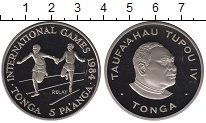 Каталог монет - монета  Тонга 5 панга