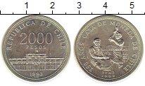 Каталог монет - монета  Чили 2000 песо