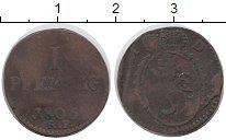 Каталог монет - монета  Гессен-Дармштадт 1 пфенниг
