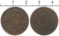 Каталог монет - монета  Франкфурт 1/2 марки