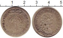 Каталог монет - монета  Пруссия 6 крейцеров