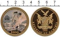 Каталог монет - монета  Намибия 100 долларов