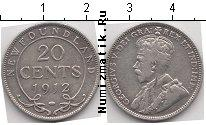 Каталог монет - монета  Ньюфаундленд 20 центов