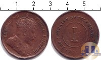 Каталог монет - монета  Стрейтс-Сеттльмент 1 цент