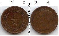 Каталог монет - монета  Стрейтс-Сеттльмент 1/2 цента
