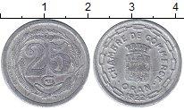 Каталог монет - монета  Алжир 25 сантим