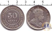 Каталог монет - монета  Стрейтс-Сеттльмент 50 центов