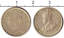 Каталог монет - монета  Стрейтс-Сеттльмент 10 центов