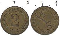 Каталог монет - монета  Бремен 2 пфеннига