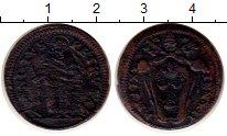 Каталог монет - монета  Ватикан 1/2 байоччи