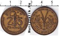 Каталог монет - монета  Того 25 франков