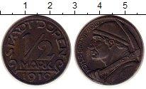 Каталог монет - монета  Германия : Нотгельды 1/2 марки
