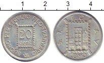 Каталог монет - монета  Италия 20 сентесим