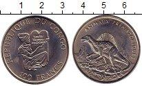 Каталог монет - монета  Конго 100 франков