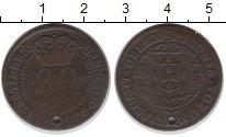 Каталог монет - монета  Бразилия 20 рейс
