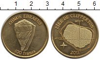 Каталог монет - монета  Остров Клиппертон 100 франков