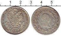 Каталог монет - монета  Австрия 20 крейцеров