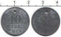 Каталог монет - монета  Германия : Нотгельды 10 пфеннигов