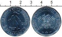 Каталог монет - монета  Боливия 2 боливиано
