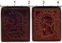 Каталог монет - монета  Цейлон 2 1/4 пенса