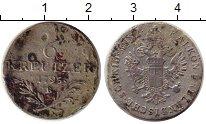 Каталог монет - монета  Австрия 6 крейцеров