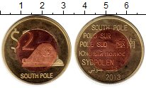 Каталог монет - монета  Антарктида 2 доллара