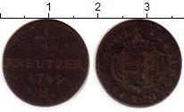 Каталог монет - монета  Швабия 1/4 крейцера