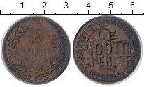 Каталог монет - монета  Италия 10 сентесим