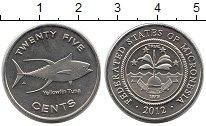 Каталог монет - монета  Микронезия 25 центов