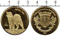 Каталог монет - монета  Сен-Бартельми 1 франк