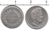 Каталог монет - монета  Франция 25 сантим