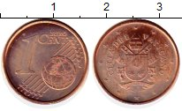 Каталог монет - монета  Ватикан 1 евроцент