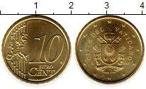 Каталог монет - монета  Ватикан 10 евроцентов