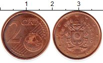 Каталог монет - монета  Ватикан 2 евроцента