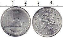 Каталог монет - монета  Чехословакия 5 крон
