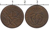 Каталог монет - монета  Датская Индия 1/2 цента