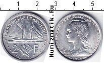 Каталог монет - монета  Сен-Пьер и Микелон 2 франка
